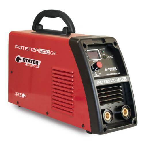 Máquina de soldar Inverter Potenza 200 GE + Máscara AS-X