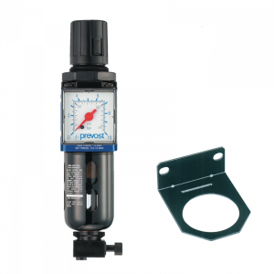 Filtro regulador con manómetro y fijación 1/4″