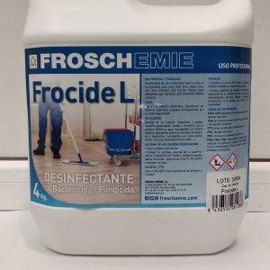 Limpiador bactericida-fungicida Frocide L 4 Kg. (uso alimentario)
