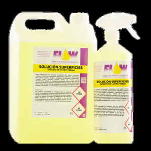 Limpiador desinfectante dióxido de cloro 100ppm