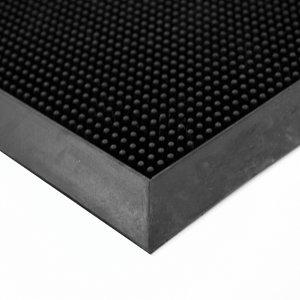 Alfombra desinfectante negra 35 x 60 cm.