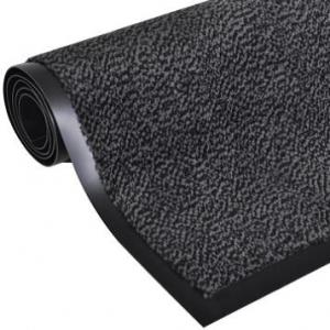 Alfombra desinfectante textil jaspeada gris