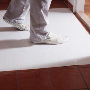 Estera antisuciedad blanca 60X90 cm. desinfectante (30 hojas)