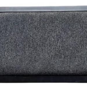 Alfombra desinfectante textil acolchado gris