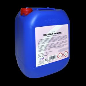 Garrafa limpiador higienizante textil/objetos/superficies 10 L.