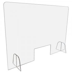 Mampara de metacrilato 100×70 cm.