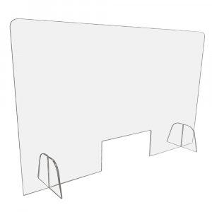 Mampara de metacrilato 120×70 cm.