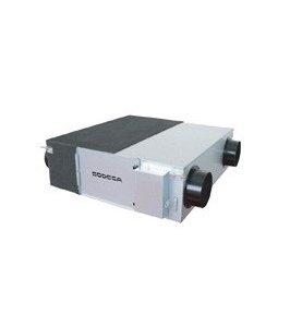 Recuperadores de calor con motor EC Technology, by-pass incorporado y filtro HEPA